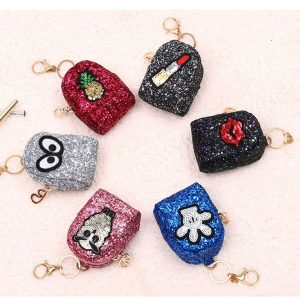 Sparkle Keyring   small little purse gift   small little purse gifts for kanjak