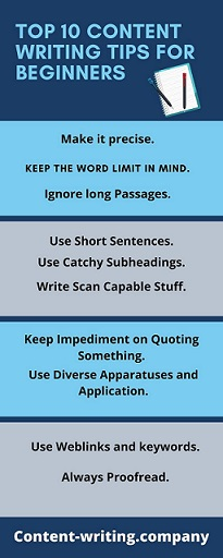 Top 10 Content Writing Tips for Beginners