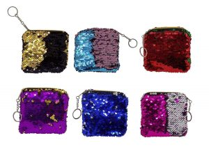 Ekan Sequins Party Wear Hand Bag   small little purse gift   small little purse gifts for kanjak