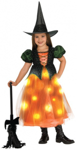 Girls Twinkle Witch Costume   Girls Halloween Costumes